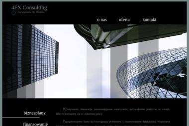 4FX Consulting - Biznes Plan Firmy Wrocław