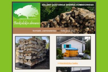 BESKIDZKIE DREWNO - Drewno kominkowe Bielsko-Biała