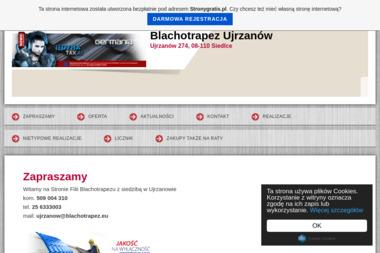 Blachotrapez Ujrzanów - Dachówka Cementowa Siedlce