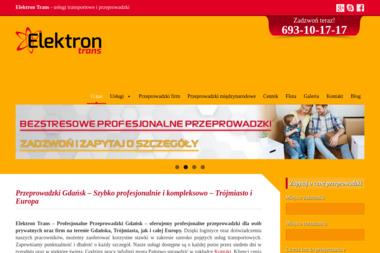 Elektron-Trans - Przeprowadzki międzynarodowe Gdańsk