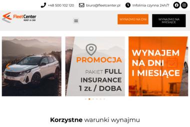 Fleet Center - wypożyczalnia, wynajem aut. - Wypożyczalnia Aut Łódź
