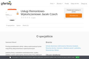Usługi Remontowo-Wykończeniowe Jacek Czech - Schody Metalowe Białaczów