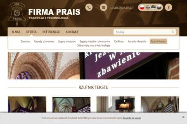 Prais - Wyposażenie firmy i biura Poznań