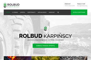 Firma Handlowa ROLBUD Iwona Tomala-Karpińska - Żwir Suszec