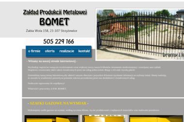 Zakład Produkcji Metalowej BOMET - Ogrodzenia panelowe Strzyżewice