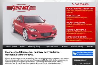 Auto Mix - Klimatyzacja Samochodowa Łódź
