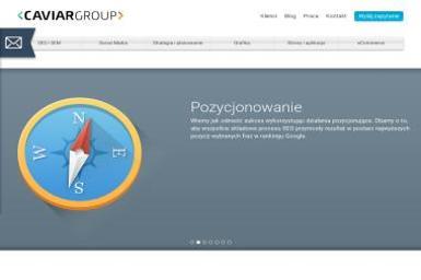 Caviar Group Sp. z o.o. - Pozycjonowanie stron Białystok