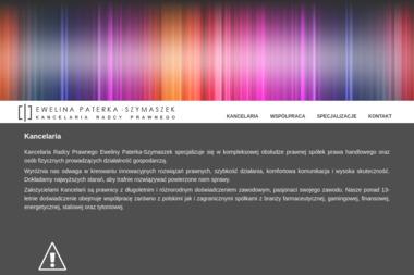 Kancelaria Radcy Prawnego Ewelina Paterka-Szymaszek - Obsługa prawna firm Dębica