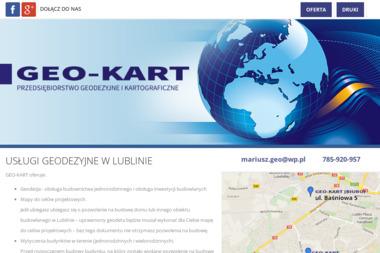Przedsiębiorstwo Geodezyjne i Kartograficzne GEO-KART - Geodeta Lublin