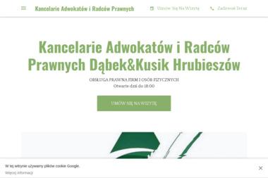 Kancelaria Adwokatów i Radców Prawnych radca prawny Małgorzata Dąbek adwokat Magdalena Kusik - Kancelaria prawna Hrubieszów