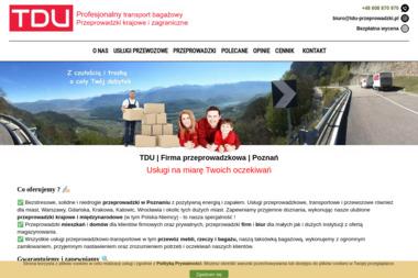 TDU Przeprowadzki i Usługi Transportowe - Firma do Przeprowadzki Międzynarodowej Poznań