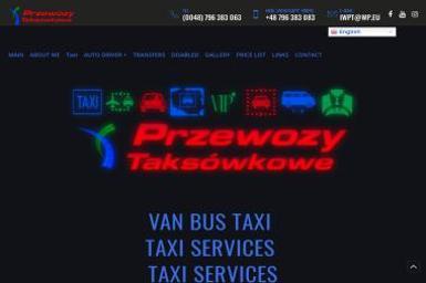 VAN BUS TAXi / Przewozy Taksówkowe - TAXi Services - Wynajem kierowców i operatorów maszyn Ostrów Mazowiecka