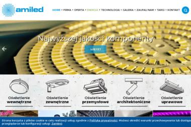 AMILED - Sprzedaż Oświetlenia Warszawa