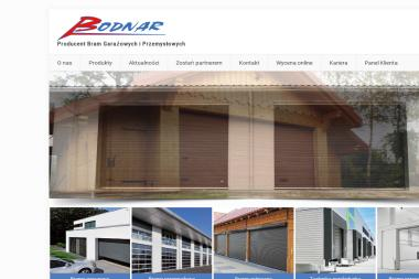 Firma Usługowo Handlowa Adam Bodnar - Bramy garażowe Sanok