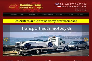 Domino-Trans - Transport busem Sępólno Krajeńskie
