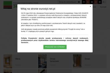 PPHU EUROSTYL - Stolarka PCV Chełmek