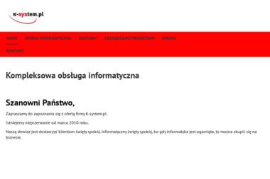 K-system.pl Karol Sienkiewicz - Obsługa Informatyczna Warszawa
