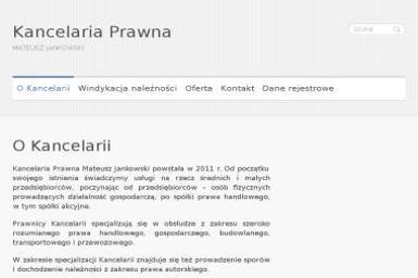 Kancelaria Prawna Mateusz Jankowski - Skup d艂ugów Pozna艅
