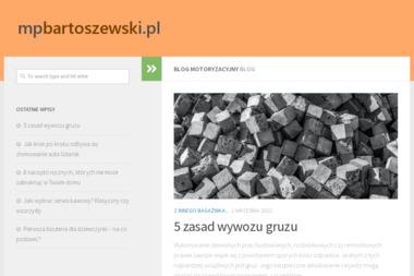 Mechanika Pojazdowa Maciej Bartoszewski - Wymiana olejów i płynów Bobowo