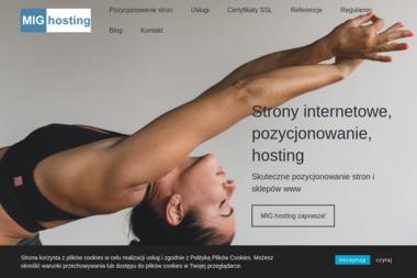 MIG hosting Grzegorz Ławniczek - Strona www Rędziny