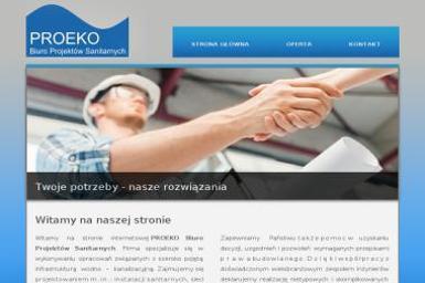 PROEKO Biuro Projektów Sanitarnych Marcin Izydorski - Projektowanie inżynieryjne Wrocław