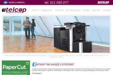 Telcop - Serwis sprzętu biurowego Warszawa