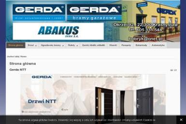 Tytan Regionalny Dystrybutor Gerda - Ogrodzenia panelowe Krasnystaw