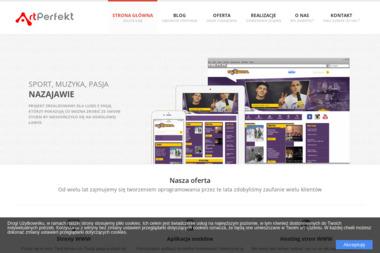 ArtPerfekt - Strona Internetowa Rabka-Zdrój