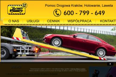 POMOC DROGOWA - Solution Robert Wójcik - Transport samochodów Kraków