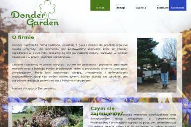 Donder Garden - Projektowanie Ogrodów Zimowych Wrocław