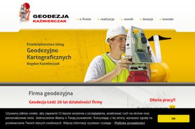 Usługi Geodezyjne Bogdan Kaźmierczak - Geodeta Łódź