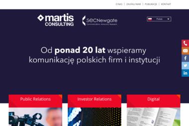 Martis CONSULTING Sp. z o. o. - Agencja PR Warszawa