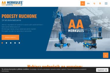 AA HERKULES Bartosz Krala - Sprzedaż Maszyn Budowlanych Katowice