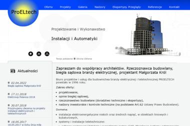 PROELTECH - instalacje teletechniczne - Montaż Kamer Masłów