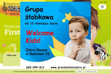 Zebra - Przedszkole Warszawa