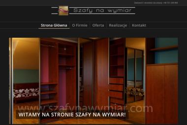 Szafy na wymiar Arkadiusz Lenart - Szafy Przesuwne Warszawa