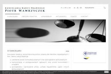 Kancelaria Radcy Prawnego Radca Prawny Piotr Wawrzyczek - Radca prawny Katowice