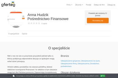 Anna Hudzik Pośrednictwo Finansowe - Ubezpieczenie firmy Głuszyca