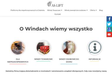 As-Lift Montaż i Konserwacja Urządzeń Dźwigowych - Windy i dźwigi Gdańsk