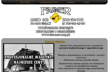 FARMER Wypożyczalnia Sprzętu Budowlanego i Ogrodniczego - Wynajem Sprzętu Budowlanego Wałcz