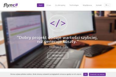 Flync# .NET Development - Programista Białystok