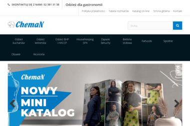 Cheman - odzież dla gastronomii - Szycie pokrowców Osielsko