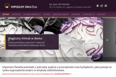 IMPERIUM ŚWIATŁA Bogusława Baka - Podświetlane Sufity Opole