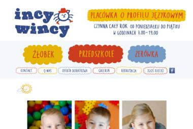 Incy-Wincy - Lekcje Angielskiego Piaseczno