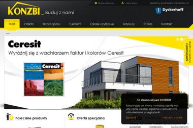 """Firma Handlowo-Usługowa """"Konzbi"""" - Pokrycia dachowe Zagnańsk"""