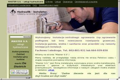 Master S.S. - Instalacje grzewcze Gorszewice