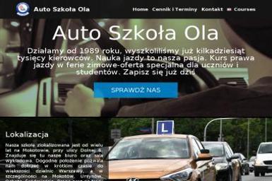 Ola Auto - Szkoła Jazdy Warszawa