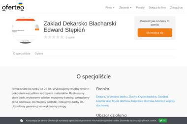 Zaklad Dekarsko Blacharski Edward Stępień - Dachy Goświnowice