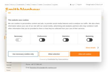 Smith & Nephew Sp. z o.o. - Sprzęt rehabilitacyjny Warszawa