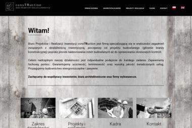 ConsTRuction Biuro Projektów i Realizacji Inwestycji - Przegląd Budynku Kraków